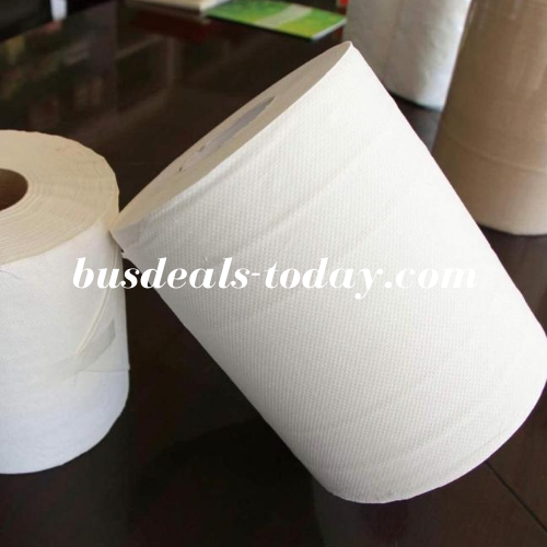 Maxi Roll Tissue Paper Pack of 6 PCS, 300 MTRS 2 ply. - BusDeals Today