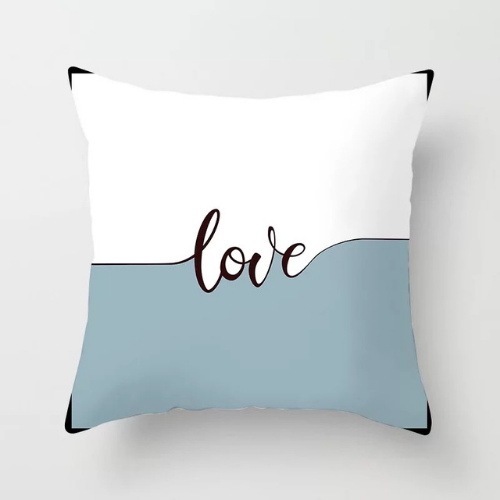 1 Piece Love Design, Decorative Cushion Cover. - BusDeals Today