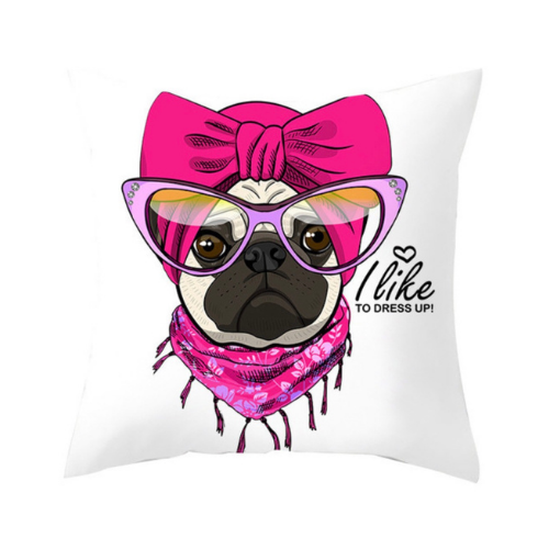 1 Piece Cute Dog Design, Decorative Cushion Cover. - BusDeals Today