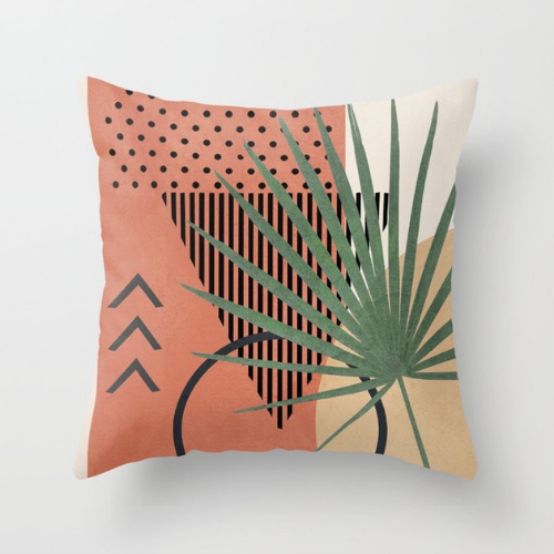 1 Piece Leaves Design, Decorative Cushion Cover. - BusDeals Today