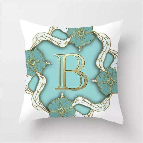 1 Piece Letter B Graphic Design, Decorative Cushion Cover. - BusDeals Today