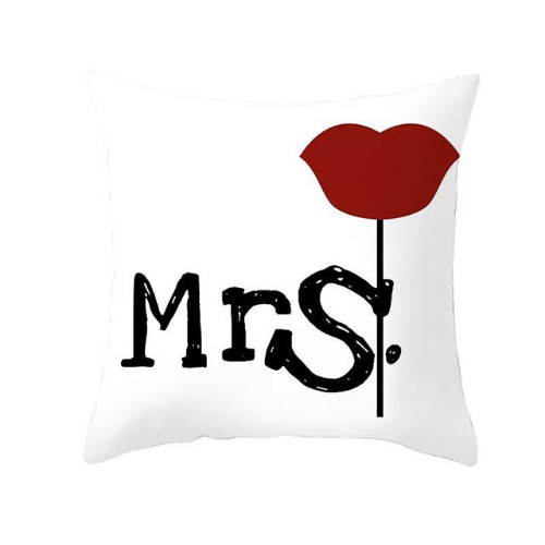 1 Piece Slogan Graphic , Decorative Cushion Cover. - BusDeals Today