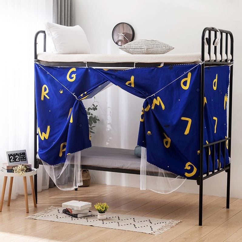 Bed curtain, letters design. - BusDeals Today