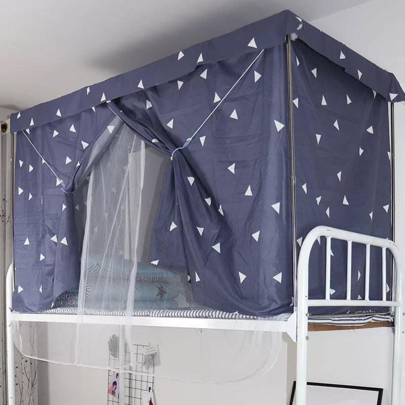 Bed curtain, rhombus design & metal frame. - BusDeals Today