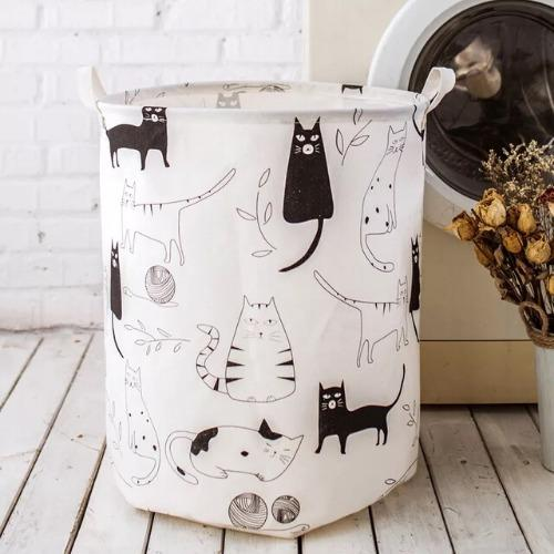 Laundry basket, Cat Design . - BusDeals Today