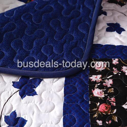 Reversible sofa cover one seater, blue color. - BusDeals Today