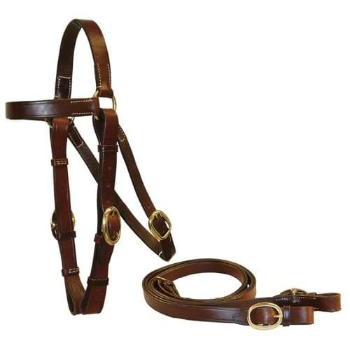 Ord River Oiled Pull-Up 1 inch Barcoo Bridle