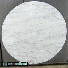 Load image into Gallery viewer, Carrara Marble Slab - Ready for fabrication, Hearth- eStone Direct