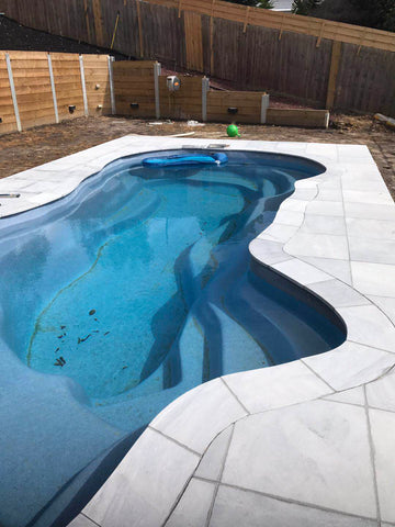 Sandblasted Frozen Blue Marble Paving, Paving- eStone Direct