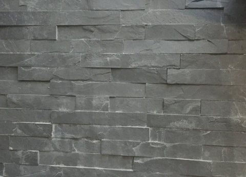 Slate Grey Stackstone Tiles and Corners PER/M2, Walling- eStone Direct