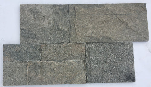 Sterling Grey Z-Panel Stacked Stone Wall Cladding ($/SQM), Walling- eStone Direct