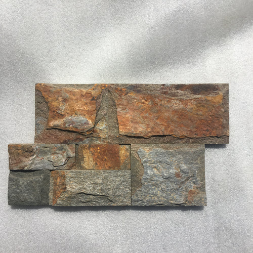 Rustic Outback Z-Panel Stacked Stone Wall Cladding, Walling- eStone Direct