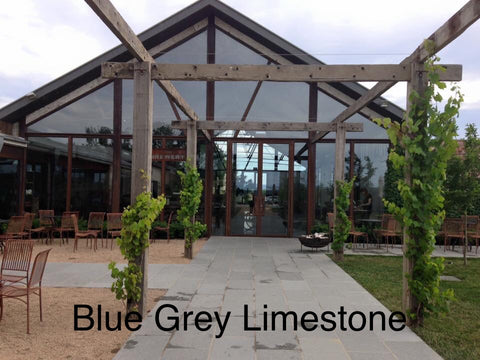 Blue Grey Limestone Paving, Paving- eStone Direct