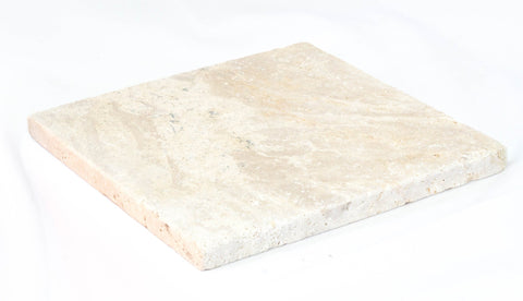 Honed and Filled Classic Ivory Travertine ($/SQM), Paving- eStone Direct