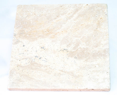 Filled Classic Ivory Travertine ($/SQM), Paving- eStone Direct