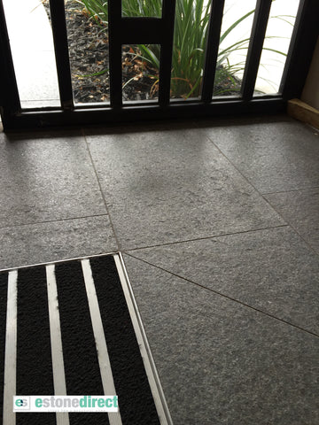 Black Flamed Granite Paving, Paving- eStone Direct