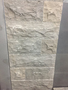 Natural Split Bluestone Rockface Ledgestone Wall Cladding, Walling- eStone Direct