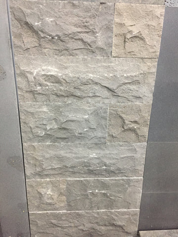 Natural Split Bluestone Rockface Random Cladding ($/SQM), Walling- eStone Direct
