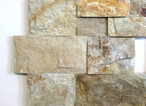 Light Dunes Beige Z-Panel Stacked Stone Wall Cladding, Walling- eStone Direct