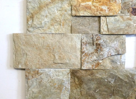 Light Dunes Beige Z-Panel Stacked Stone Wall Cladding