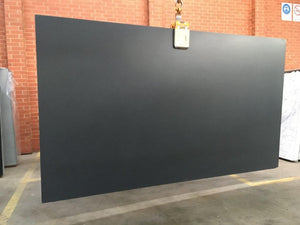 Absolute Black Granite Slab- Ready for fabrication, Hearth- eStone Direct