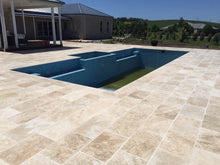 Load image into Gallery viewer, Classic Ivory Travertine Paving - Honed and Filled, Paving- eStone Direct