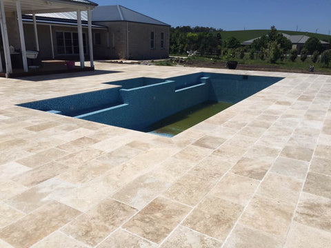Filled Classic Ivory Travertine ($/SQM)