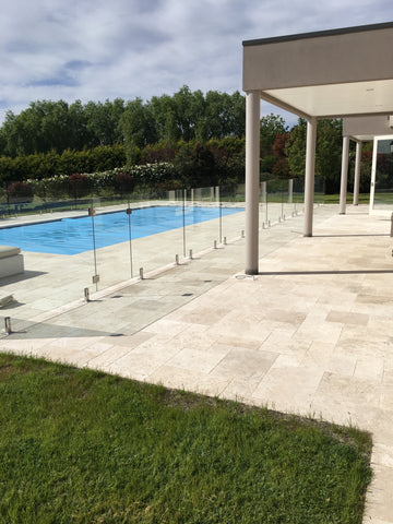 Classic Ivory Travertine Paving - Tumbled and Unfilled, Paving- eStone Direct