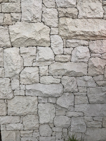 Australian Shell Limestone Rubble Cladding, Walling- eStone Direct