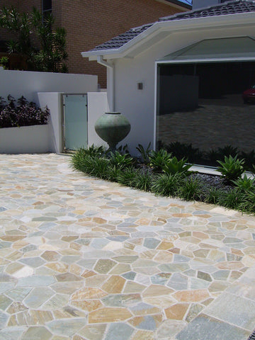 Quartzite Crazy Paving, Paving- eStone Direct