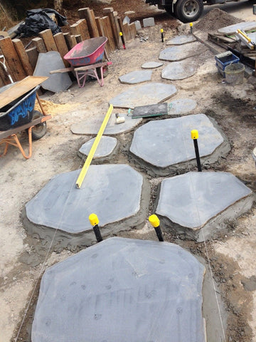 Bluestone Natural Steppers 30mm, Paving- eStone Direct
