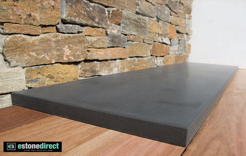 Bluestone Hearth - Honed 1500x400x30mm, Hearth- eStone Direct