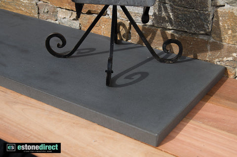 Bluestone Hearth - Honed 1800x400x30mm, Hearth- eStone Direct