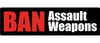 "Ban Assault Weapons - 3"" x 10"""