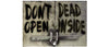 "Don't Open, Dead Inside - 4.25"" x 6"""