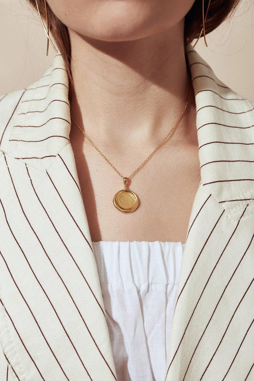 NO. 4 NECKLACE - GOLD