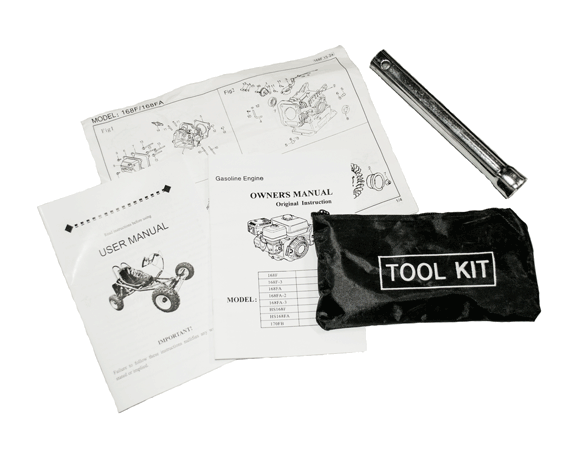 Tool Kit and Manuals Go Karts Australia