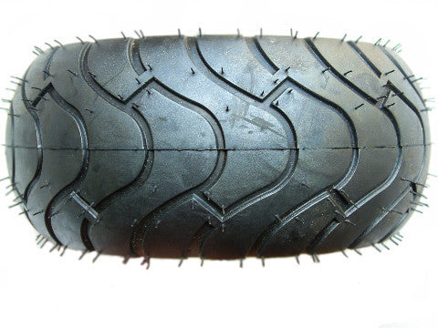 Tread pattern of slick road tyres Go Karts Australia