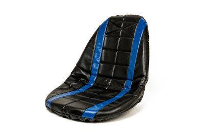 Blue padded seat cover