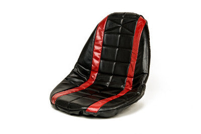 Red padded seat cover