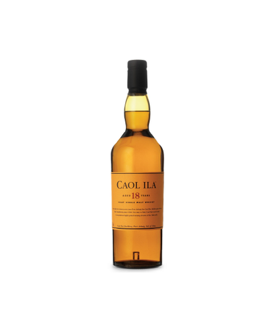 Caol Ila 18yrs Single Malt 70cl
