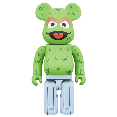 BEARBRICK 400% Sesame Street - Oscar the Grouch