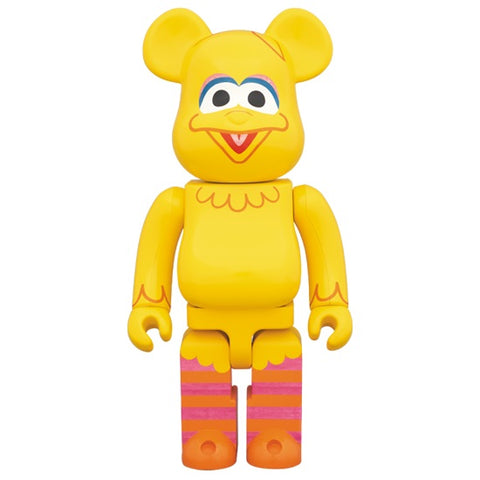 BEARBRICK 400% Sesame Street - Big Bird