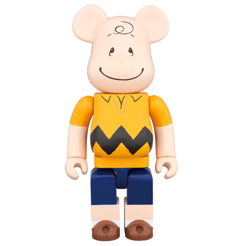 BEARBRICK 400% Peanuts - Charlie Brown