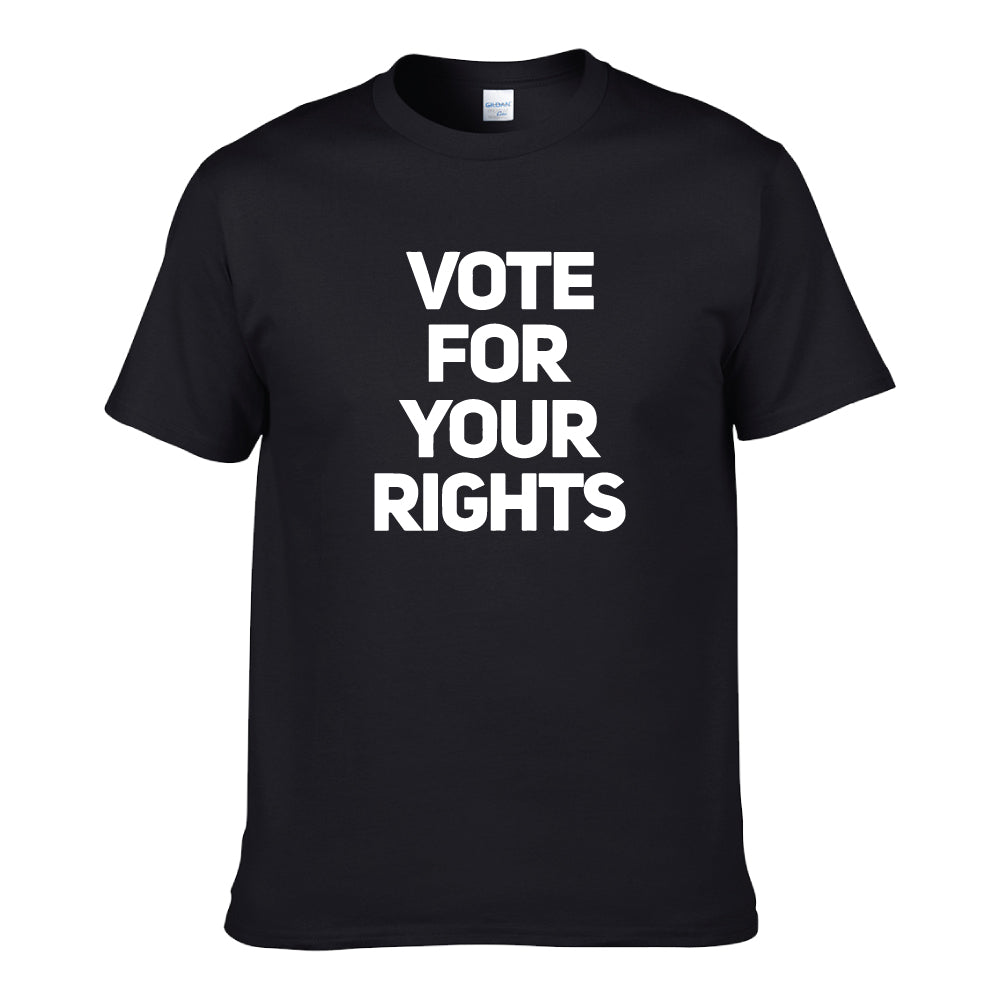 UT VOTE FOR YOUR RIGHTS Premium Slogan T-Shirt