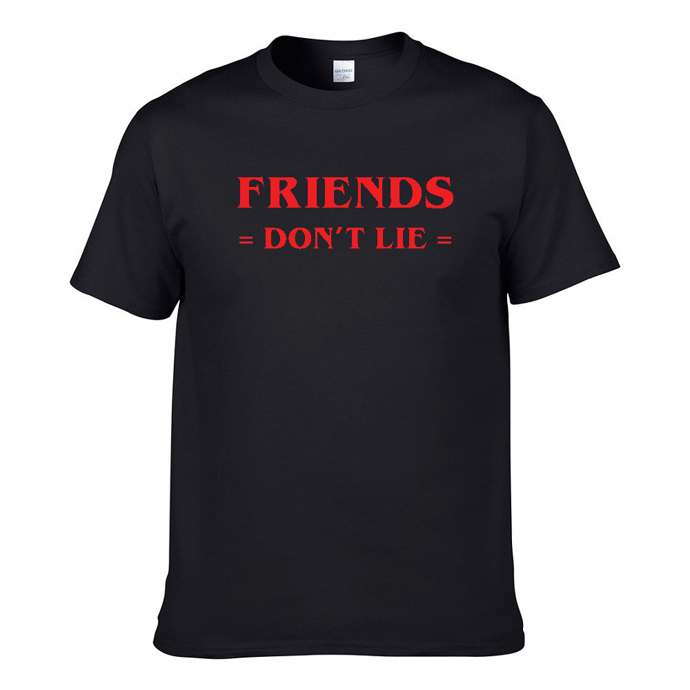 UT FRIENDS DON'T LIE Premium Slogan T-Shirt