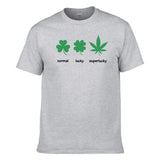 UT NORMAL LUCKY SUPERLUCKY Premium Slogan T-Shirt