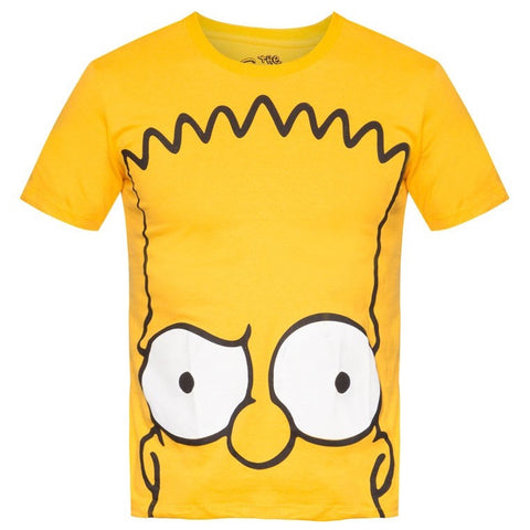The Simpsons Signature Bart Head T-Shirt