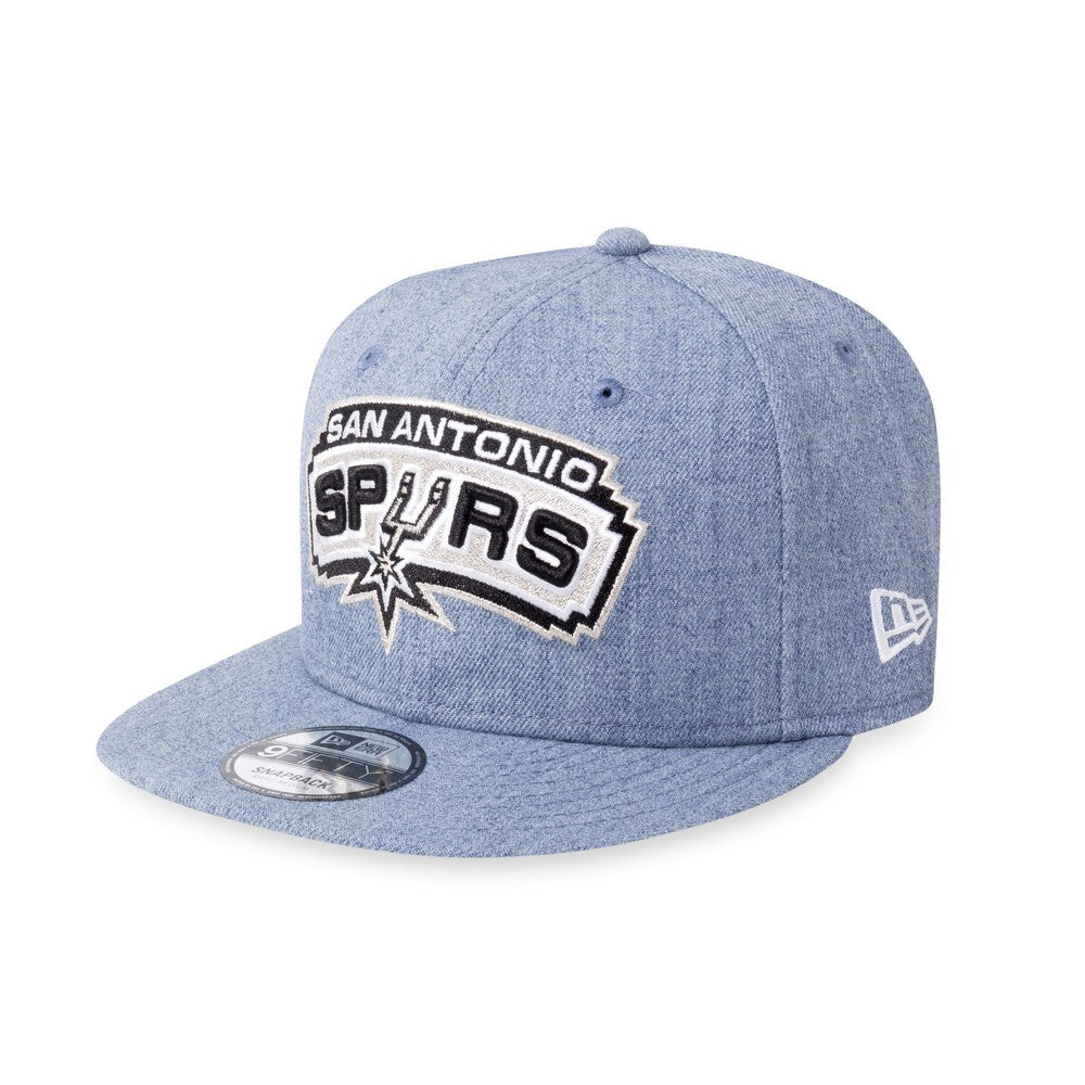 NBA Heather San Antonio Spurs New Era 9Fifty Snapback Cap