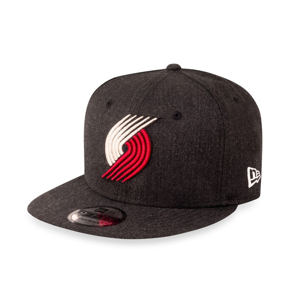 NBA Heather Portland Trailblazers New Era 9Fifty Snapback Cap